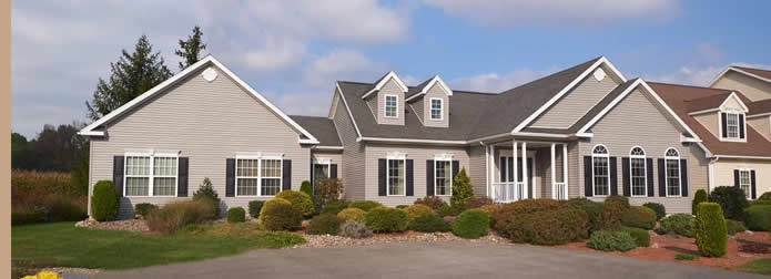 Becker Homes Welcome Page